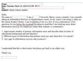 Lib Student Email
